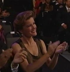 Kate Mulgrew - 'Star Trek: 30 Years and Beyond - A Live Tribute' at Paramount Studios in Los Angeles 1996