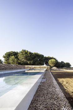 Modern pool