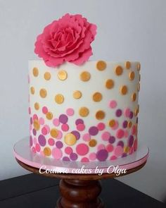 Image result for pink cakes