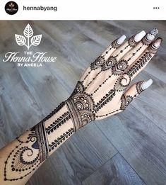 One of Top 10 Beautiful Henna Designs for Eid