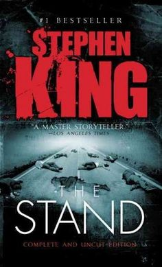 """""""The Stand"""" by Stephen King A monumentally devastating plague leaves only a few survivors who, while experiencing dreams of a battle between good and  evil, move toward an actual confrontation as they migrate to Boulder, Colo."""