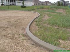 Image detail for -really enhance a plain old gravel driveway, defining and keeping edges ...