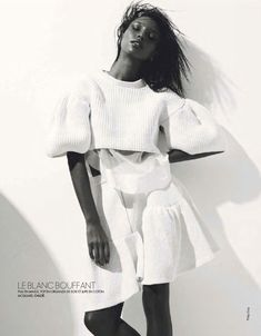 Jasmine Tookes By Philip Gay For Elle France February 2013 - 3 Sensual Fashion Editorials | Art Exhibits - Anne of Carversville Women's News