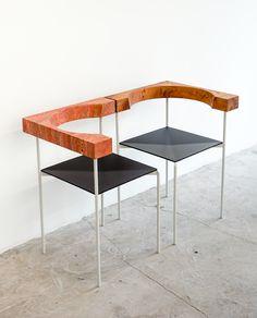 office kersten geers david van severen corner chair biennale interieur kortrijk maniera designboom