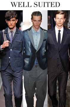 Denim Trends in Menswear-Fall/Winter 2014/2015 by Trend Council | 2