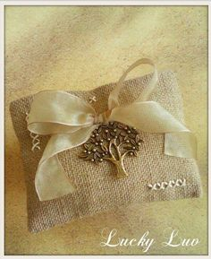 Burlap Wedding Favor Pouch by LuckyLuvEventsCo on Etsy Burlap Wedding Favors, Wedding Gifts For Guests, Wedding Favour Pouches, Guest Gifts, Bridal Shower, Cross Stitch, Bows, Etsy Shop, Weddings