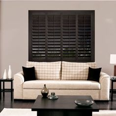 Add warmth to your classic contemporary flavor with the Ovation shutter-choose from 39 different finishes!