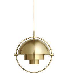 Multi-Lite Pendant all brass, 4m brass-c