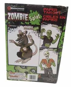 Zombie Style Paper Targets 3 Styles 2ea   Zombie style paper targets