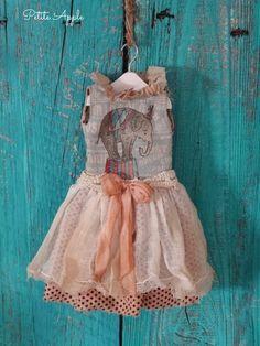 Blythe outfit *Carnivale* vintage style dress