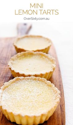 Mini Lemon Tarts Recipe - these miniature lemon tarts are so tasty and moreish, you may find it hard to stop at just one.