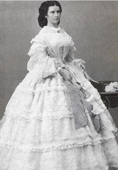 Empress Sissi of Austria, was considered one of the most beautiful women of her time and was also supposedly nice as well as funny.