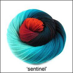 Handpainted yarn | Into the Whirled
