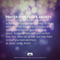 Feeling Trapped, Perfect Love, Loneliness, Anxiety, Prayers, It Cast, Healing, Peace, Thoughts