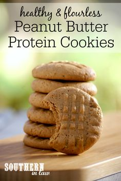 Butter Protein Cookies Recipe low fat, gluten free, high protein ...