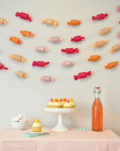 DIY Candy Garland | Oh Happy Day!