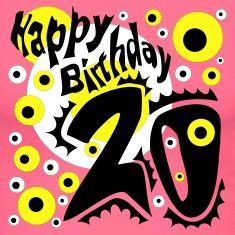 Leuke 20 Jaar Verjaardag Plaatjes Verjaardagskaarten Company Logo