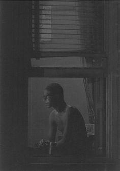 Man in window, c. 1962 Roy de Carava