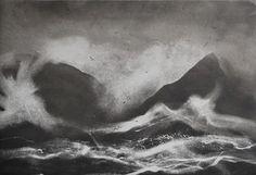 Inishbofin Sound, Norman Ackroyd RA[medium]2005, etching, image courtesy of the artist[/medium]