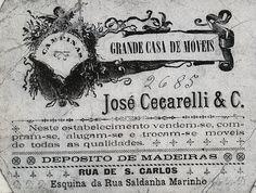 Casa de móveis José Cecarelli, Campinas, SP, início do Século XX Campinas, Home