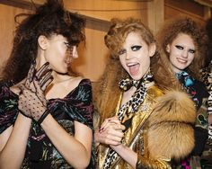 Marc Jacobs Resort '17 Hair and Makeup