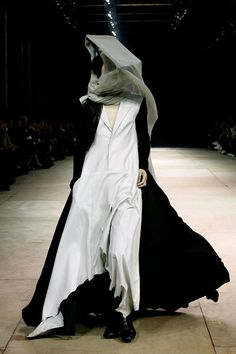 Yohji Yamamato - I would feel like an insanely hip bee keeper in this outfit