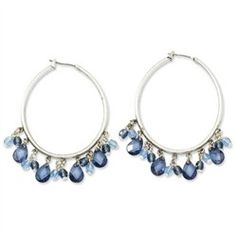 #Goldia                   #Everything ElseWholesale Lots                      #Silver-tone #Light #Dark #Blue #Crystals #Hoop #Earrings                     Silver-tone Light & Dark Blue Crystals Hoop Earrings                                                    http://www.snaproduct.com/product.aspx?PID=7532181