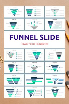 Funnel PowerPoint Slide Templates - creative design business presentation templates in PowerPoint. Ready template, easy to edit. #Funnel #PowerPoint #Design #Creative #Presentation #Slide #Infographic #Template Powerpoint Slide Templates, Keynote Template, Powerpoint Designs, Chart Infographic, Infographics, Presentation Slides Design, Business Presentation Templates, Powerpoint Background Design