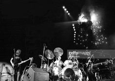 Snowy White, Nick Mason, Roger Waters performing...