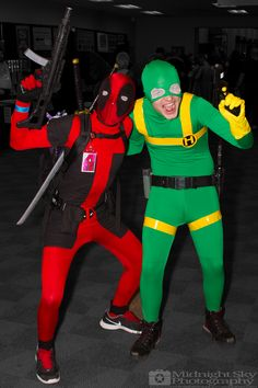 #Deadpool and #BobAgentOfHydra #Cosplay from #SteelCityCon #ComicCon ----- Check out more of my photography @ http://www.facebook.com/MidnightSkyPhotography (Link in Profile) ----- #MidnightSkyPhotography #MidSkyPhoto