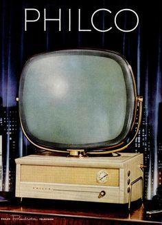 Ad for the Philco Predicta television, July 1955.