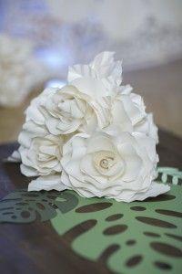 Flow Art Decor,  paper flower , wedding decorations  papírvirág asztaldísz esküvői dekoráció