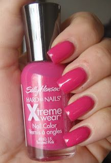 Sally Hansen - Hard as Nails Xtreme Wear - Twisted Pink