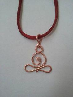 Yoga collier bijou yoga lotus collier cadeau par TWhitfieldDesigns