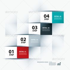 Infographic Business Step and Design Template #design Download: http://graphicriver.net/item/infographic-business-step-and-design-template/6757353?ref=ksioks