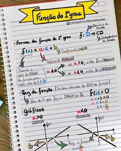 Pin by Larissa Silva on Estudando Physics And Mathematics, Math Notes, Math Formulas, Study Organization, Math About Me, Lettering Tutorial, School Notes, Study Inspiration, School Hacks