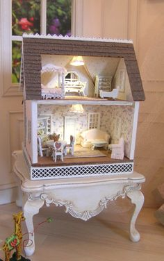 Madalyn's Dollhouse Class and Kit. Gorgeous!