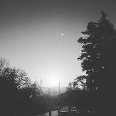 Sunrise in Black & White! #karmabloggers