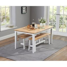 White Dining Table Set, 4 Seater Dining Table, Wooden Dining Set, Oak Dining Sets, Dining Set With Bench, 4 Dining Chairs, Extendable Dining Table, Dining Bench, Dinning Set