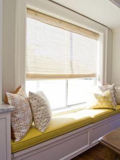 Window seat in Sandy, UT by Tiek Built Homes