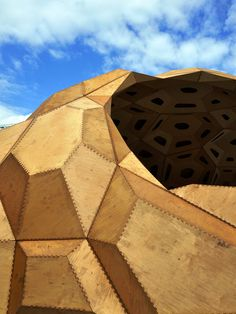 My First Geodesic Domo   Geometricks   Sacred Geomery   Pinterest    Escultura Geométrica, Cúpula E Invenções