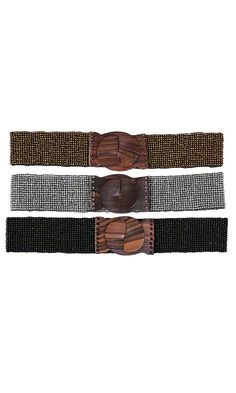 Beaded Belt / MiB Plus Size Fashion for Women / Plus Size Accessories