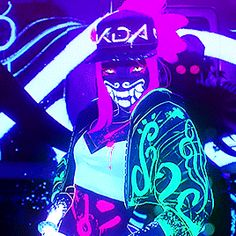 League Of Legends Characters, Lol League Of Legends, Hipster Drawings, Cool Drawings, Akali Lol, Cartoon Network, Rick And Morty Stickers, Moba Legends, Neon Girl