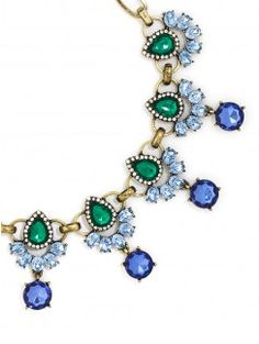Rumble Gem Collar via BaubleBar