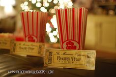 Make Your Christmas Lights Touring An Event & An Ongoing Tradition  -- With special memorable touches like 'tickets', popcorn or cookies and hot chocolate while playing Christmas music. Link to DIY free printable ticket.