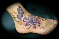 Foot tatoo
