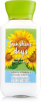 Sunshine Days - Bright Sunflowers Travel Size Body Lotion - Signature Collection - Bath & Body Works