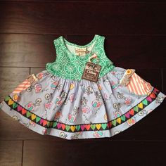 Matilda Jane Wonderful Parade 3 Ring Sara Top Size 18 Months | eBay