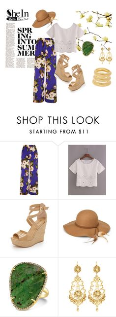 """""""SheIn in Spring to summer"""" by shassydee on Polyvore featuring Dolce&Gabbana, MICHAEL Michael Kors, Steve Madden, Jose & Maria Barrera and Adami & Martucci"""