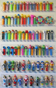 Pez, something i've collected since I was a child!!!